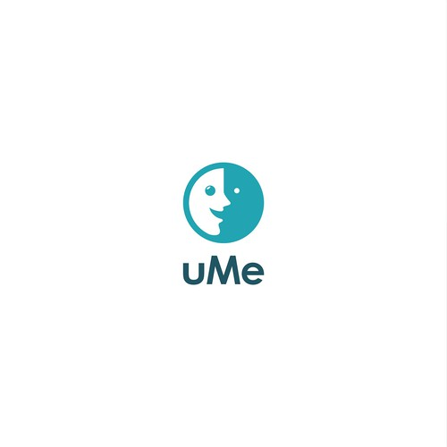 U and Me Logo Design