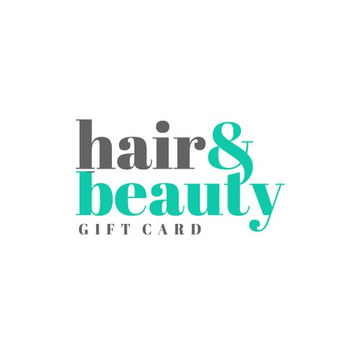 Logo design for Hair&Beauty