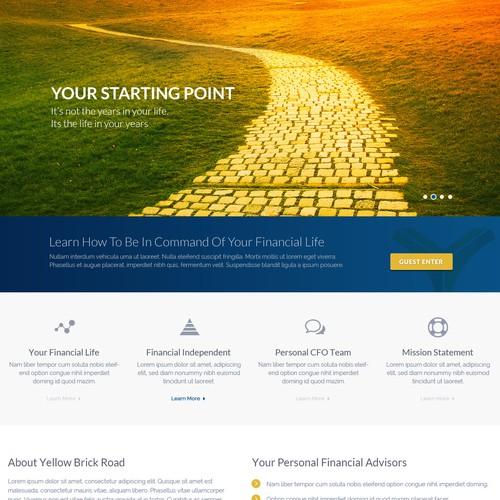 Yellow Brick Road Website Design