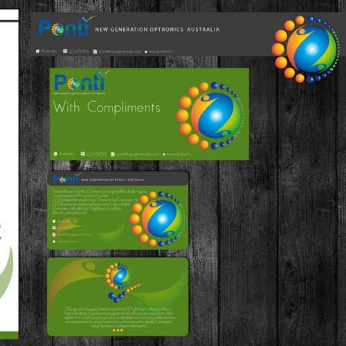 Help Ponti New Generation Optronics Australia with a new print or packaging design