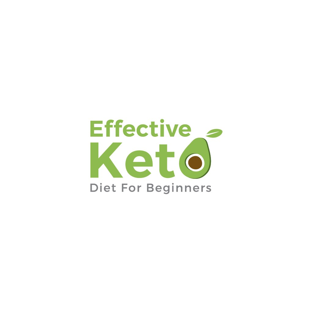 Distinctive logo for EFFECTIVE KETO DIET FOR BEGINNERS Facebook group and business.
