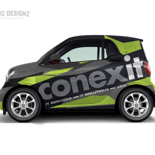 Mercedes smart wrap for CONEXIT