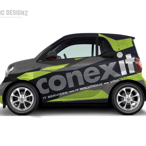 Mercedes smart wrap for CONEXIT