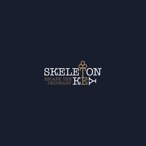 Skeleton key logo