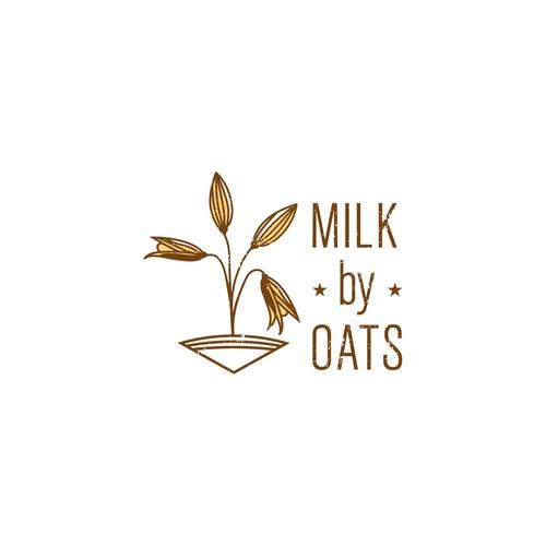 Milk by OATS logo