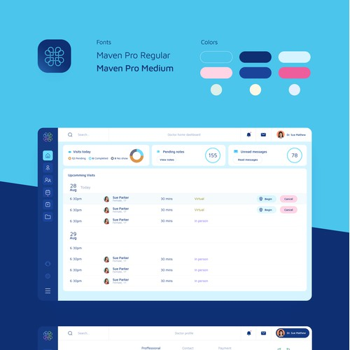 Medical platform app