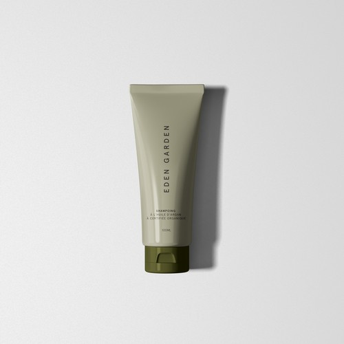 Packaging for high end Hair Care