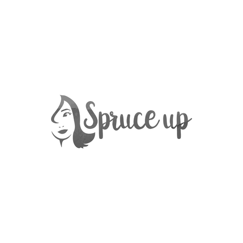 Spruce Up logo for beauty, cosmetics products