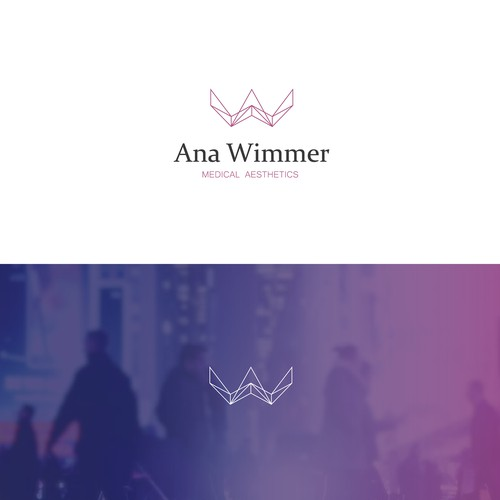 logo concept for Ana Wimmer