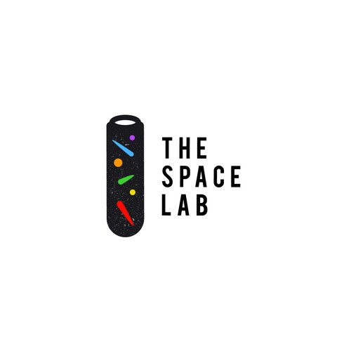 logo concept for meteorite science lab