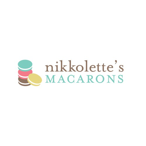 logo for Nikkolette's Macarons