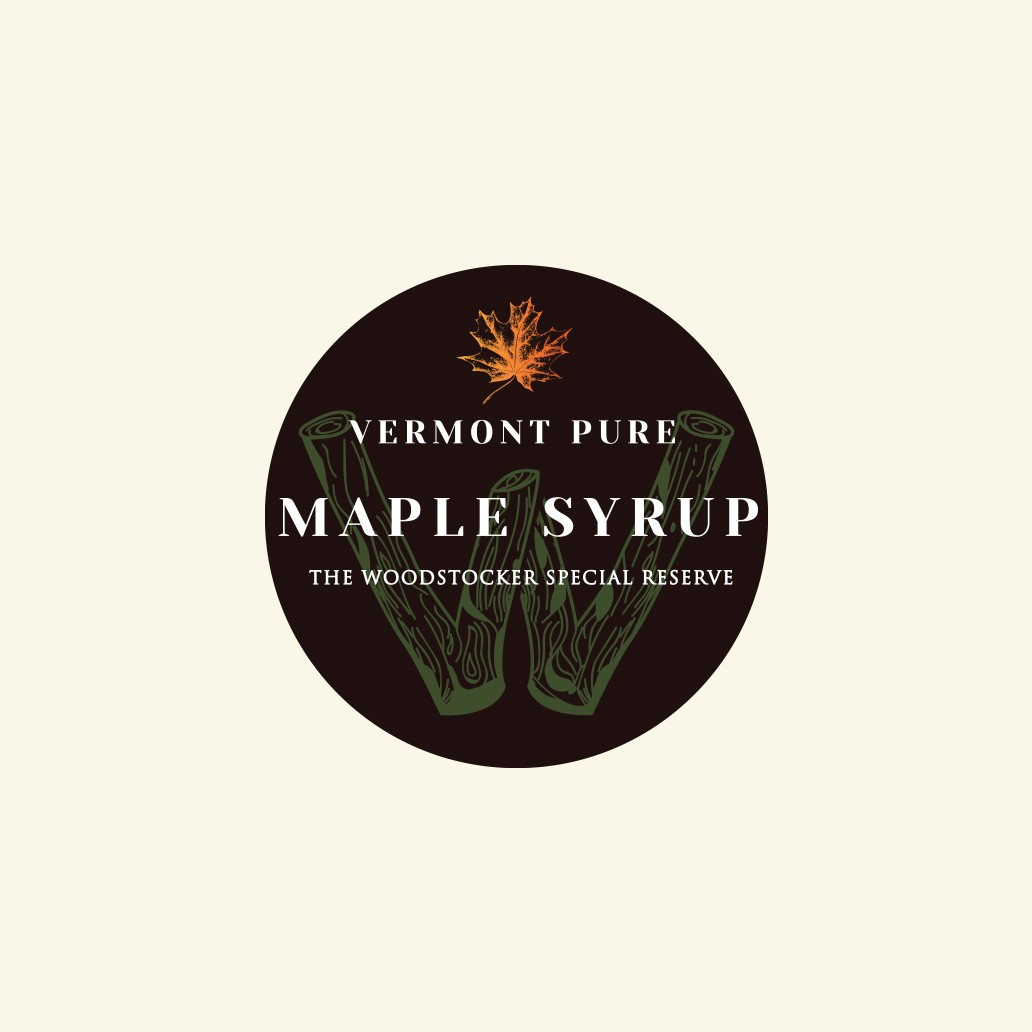 label for maple syrup bottles