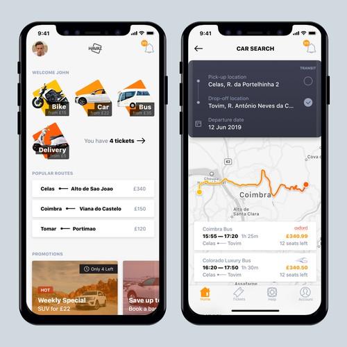 Passenger Transportation App