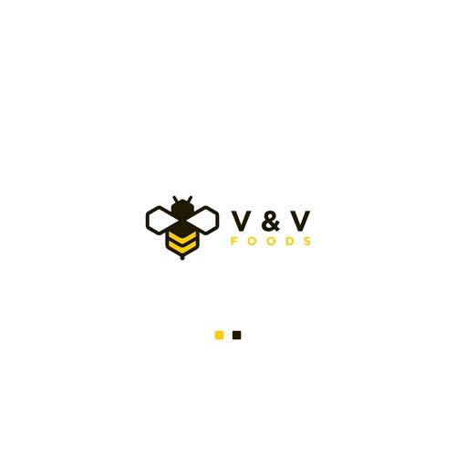 Honey sellers need a company logo