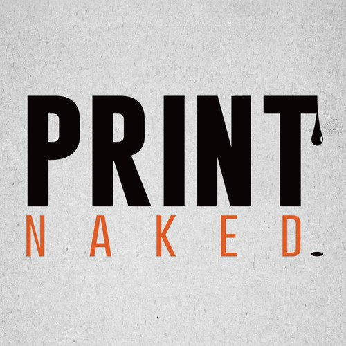 Print Naked   Would you wear your logo design???