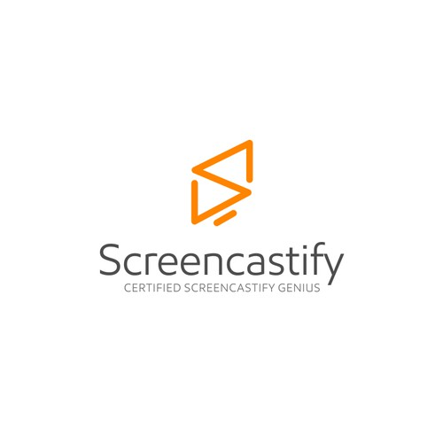 Design a fun, creative certification badge for Screencastify