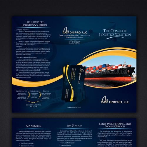 Brochure Design for DNIPRO