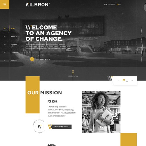 consulting agency's ambition to change the world, Future Proof Website Design