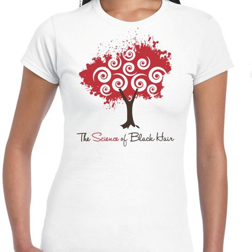 Design an eye-catching, T-shirt for beauty company