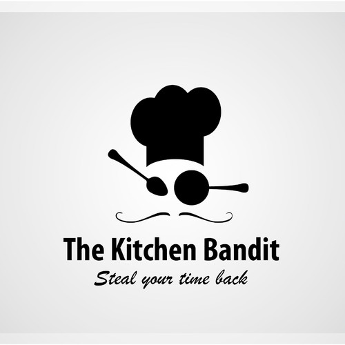 Create the next logo for The Kitchen Bandit