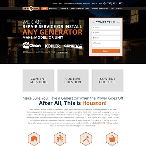 A&A Genpro Attorney lawyer Website Project