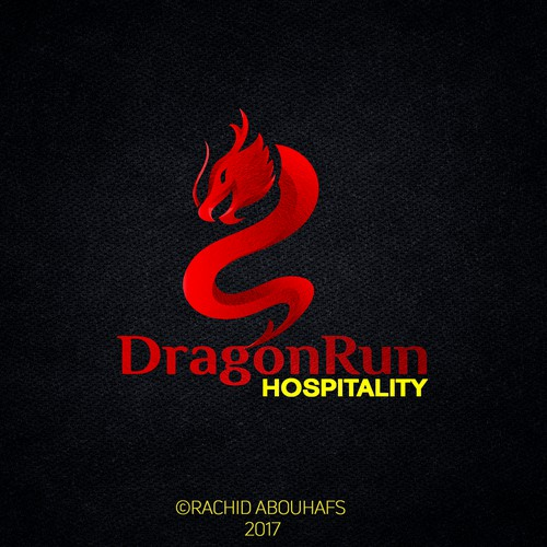 Design a cutting edge logo for Dragon Run Hospitality