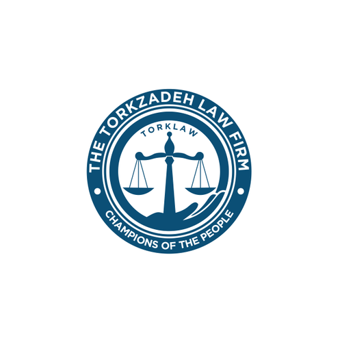 Create a compelling crest/emblem logo for A law firm