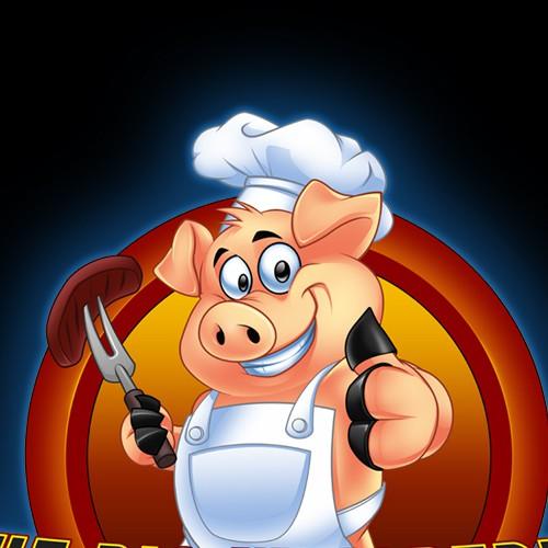 logo for The Pig Whisperer