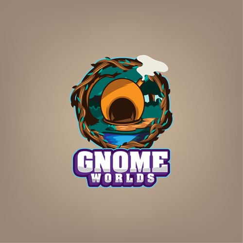Logo for GnomeWorlds
