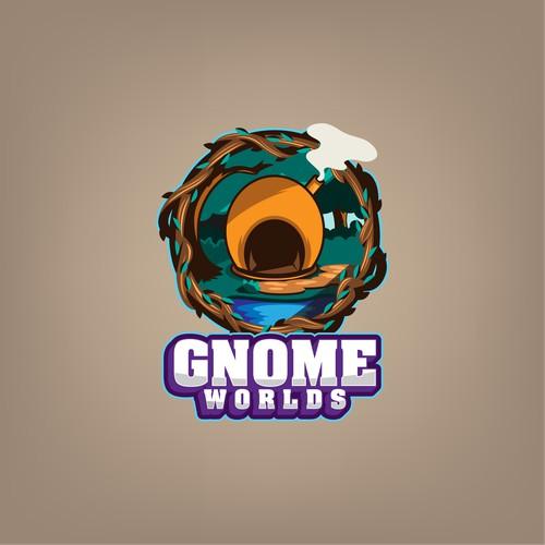 Logo for GnomeWorlds