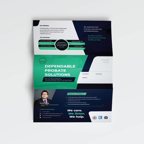Brochure Design for Probate Solutions