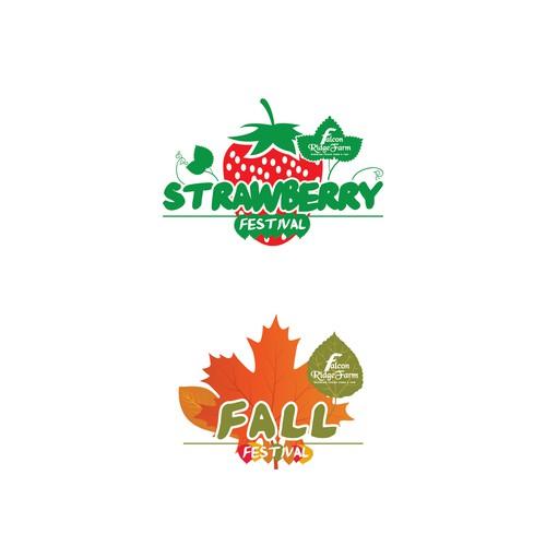 Farm tourism logos