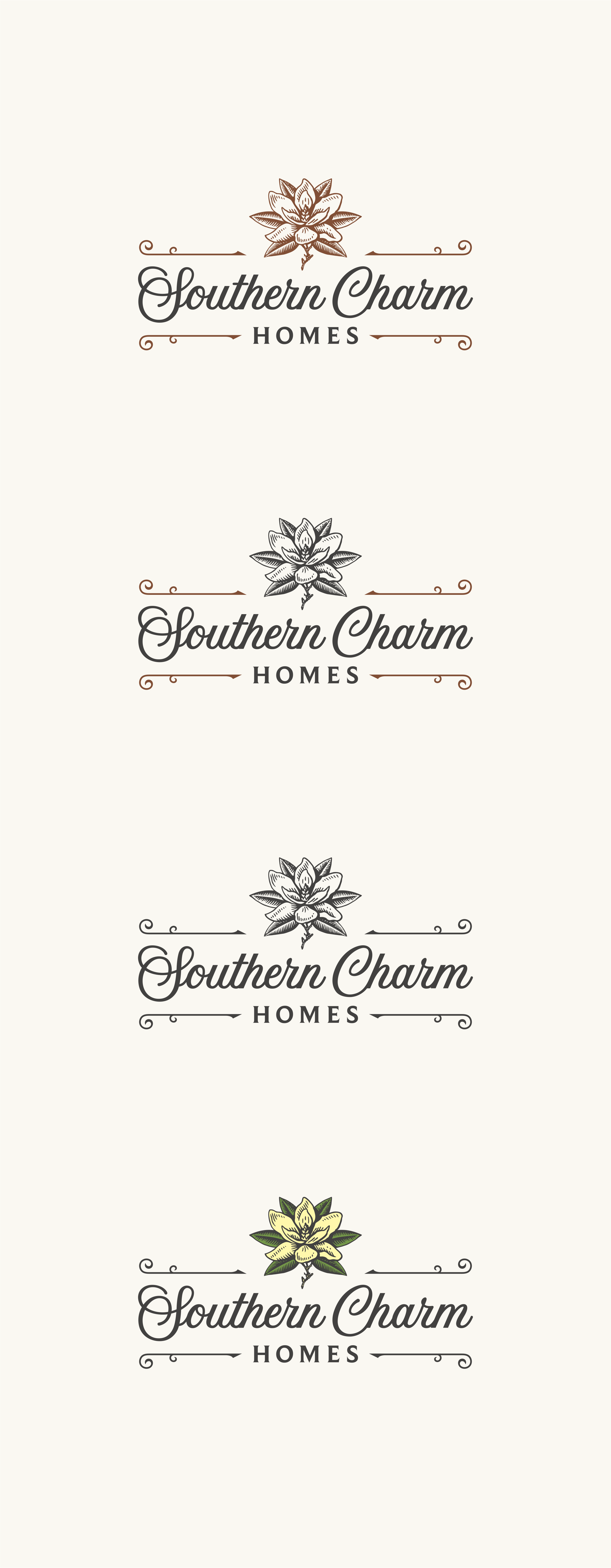 Logo for Southern Charm Homes