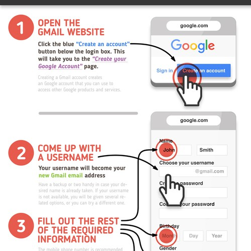 Gmail Account Creation Step by Step
