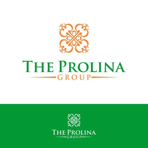 Elegant logo concept for The Prolina Group