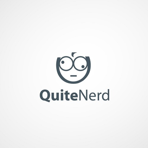Create the next logo for Quite Nerd
