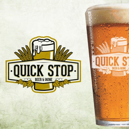 New logo wanted for Quick Stop Beer & Wine