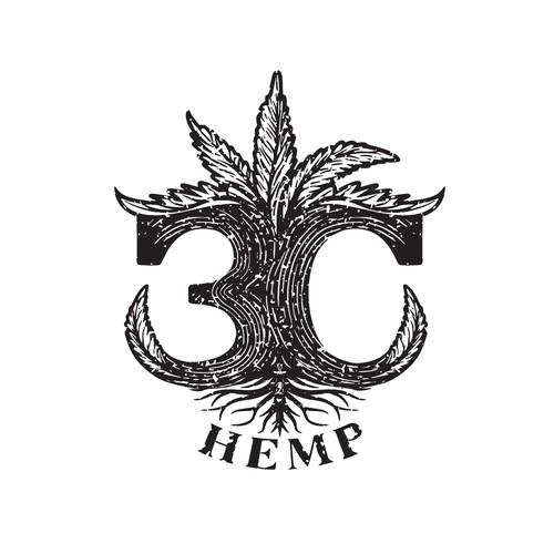 3C Hemp logo