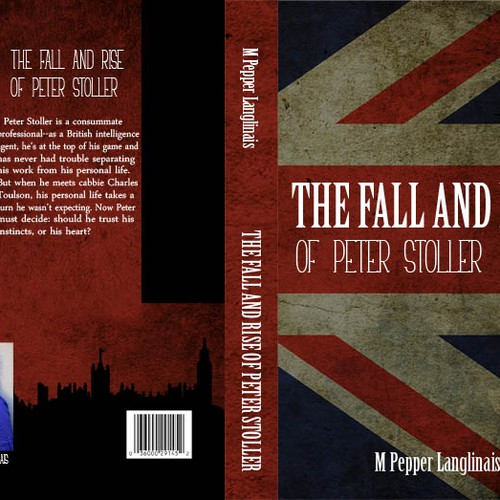 Striking Cover Needed for Soon-To-Be-Published Spy Novel