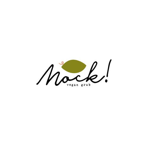 Logo Concept for Mock Vegan Grub