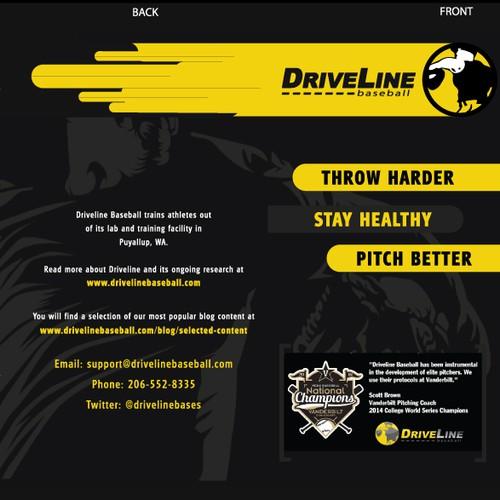 Tri-Fold Brochure for Baseball Science Company