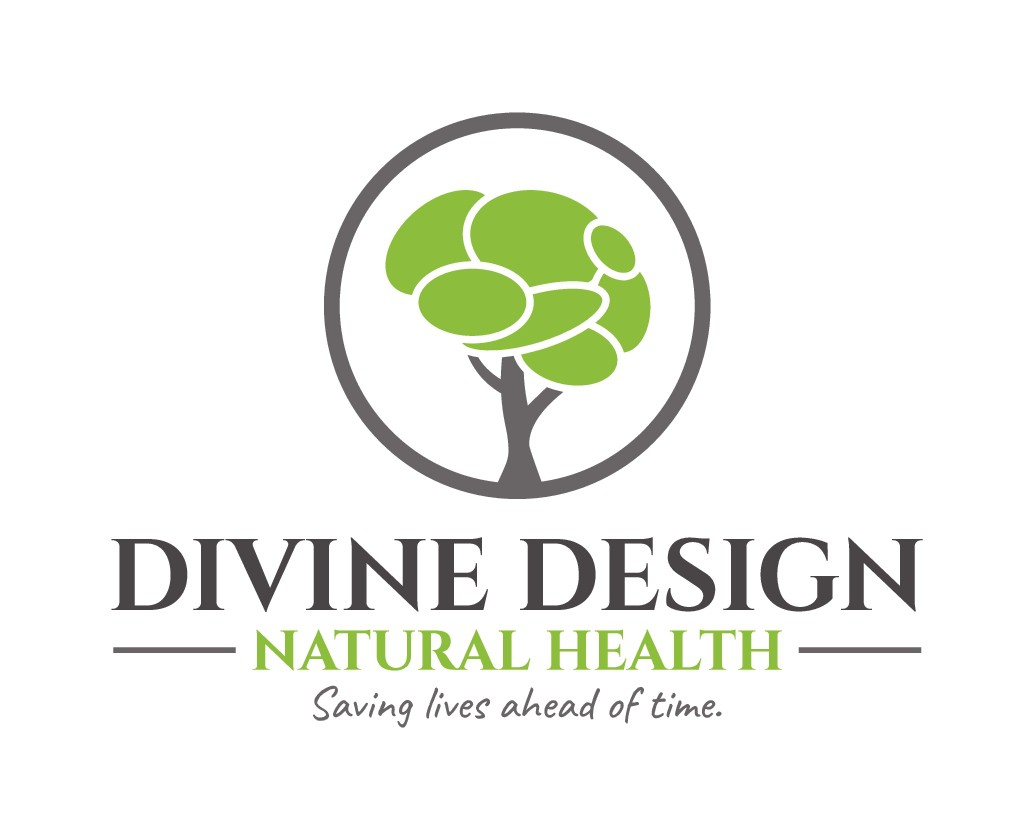 Logo for natural healthcare. Help us in saving lives ahead of time.