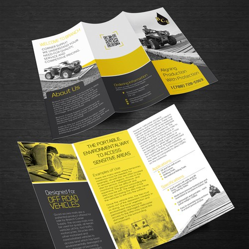 Help us revamp our marketing materials to generate more interest!
