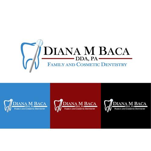 Create a Professional, elegant design for a High quality gentle Dentist