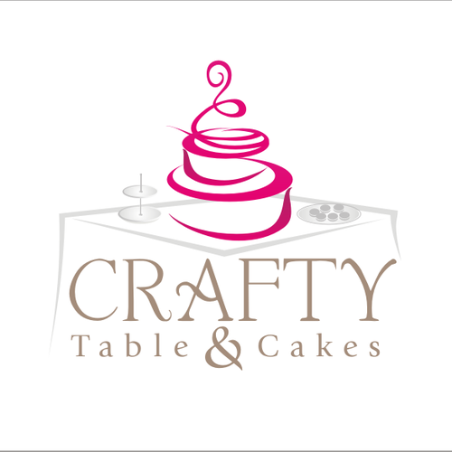 Crafty Table & Cakes needs a new logo