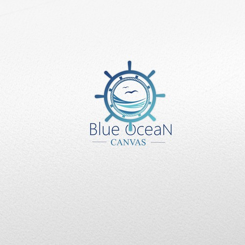 Blue Ocean Canvas