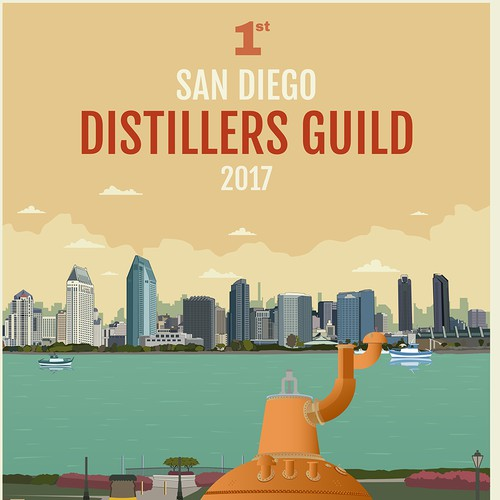 poster for sandiego distiller guild