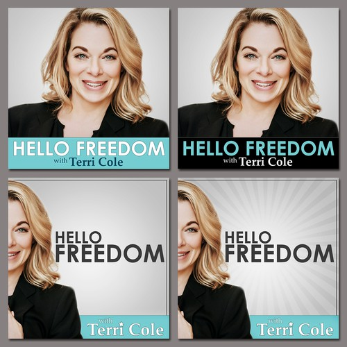 """Hello Freedom"" Podcast Cover"