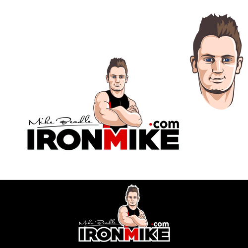 Create me a cartoon/mascot logo for my personal training business.