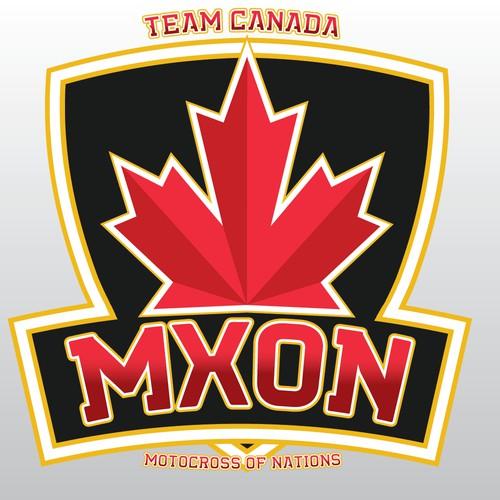 Logo for National Motocross Team